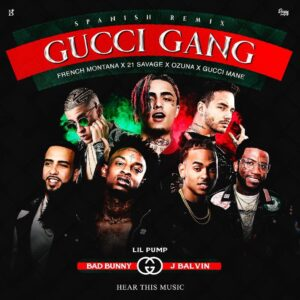 gucci gang official remix