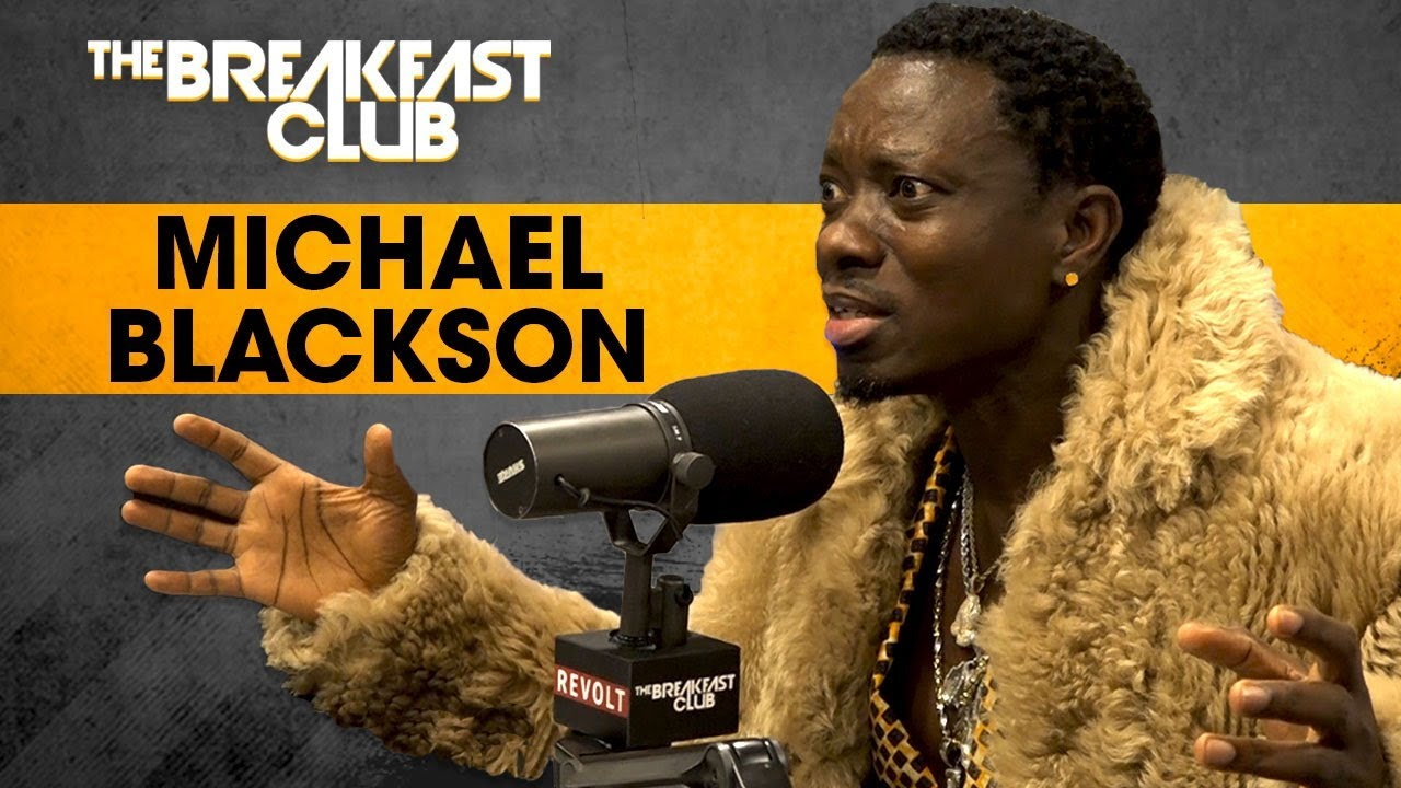 michael blackson breakfast club 2018