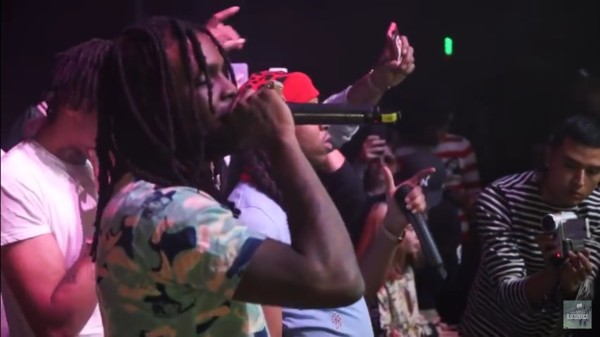 Chief Keef Performs In Santa Ana, CA (Vlog)