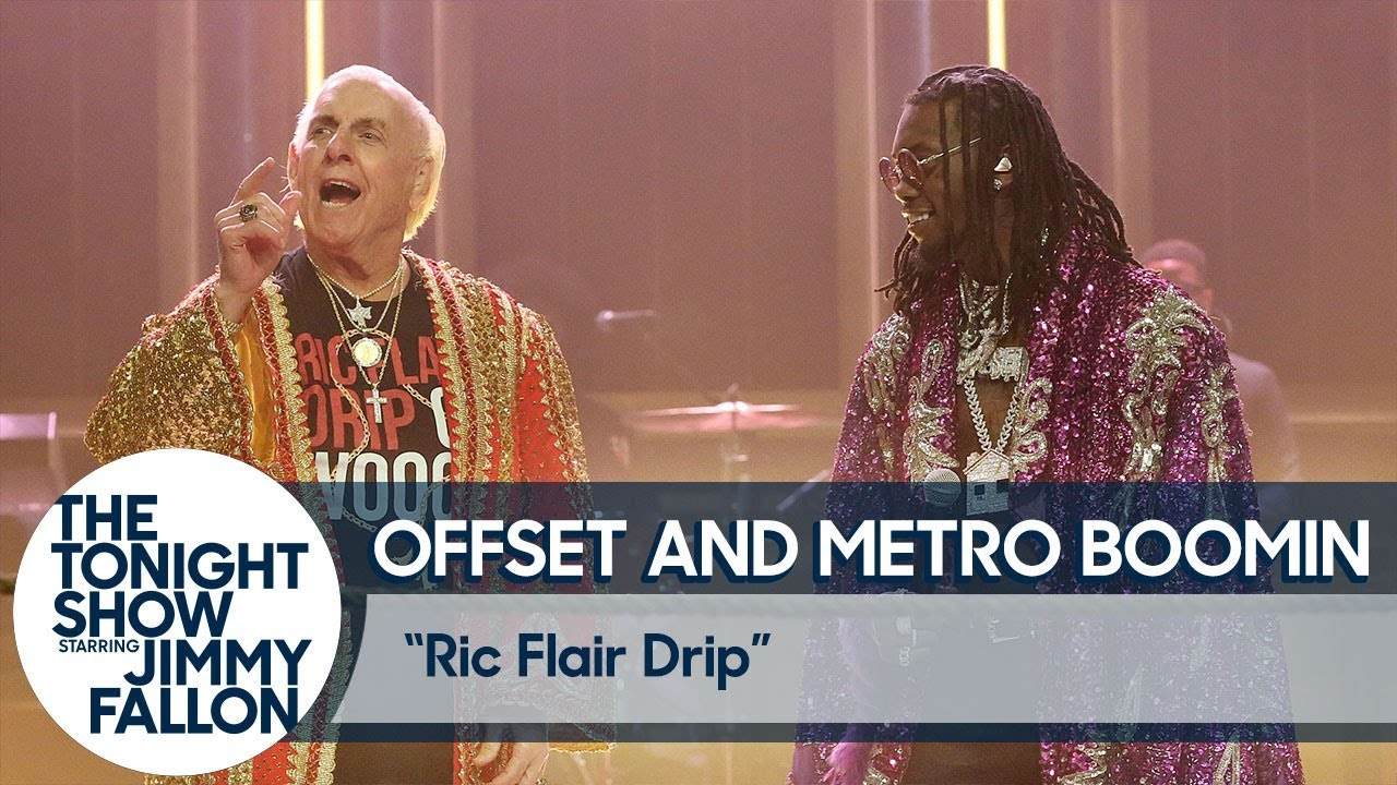 "Offset & Ric Flair Perform ""Ric Flair Drip"" On The Tonight Show"