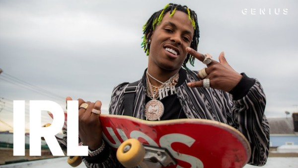 Rich The Kid Hits The Skatepark