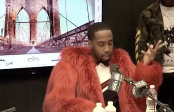 Safaree Breaks Down In Tears After Getting Robbed At Gunpoint