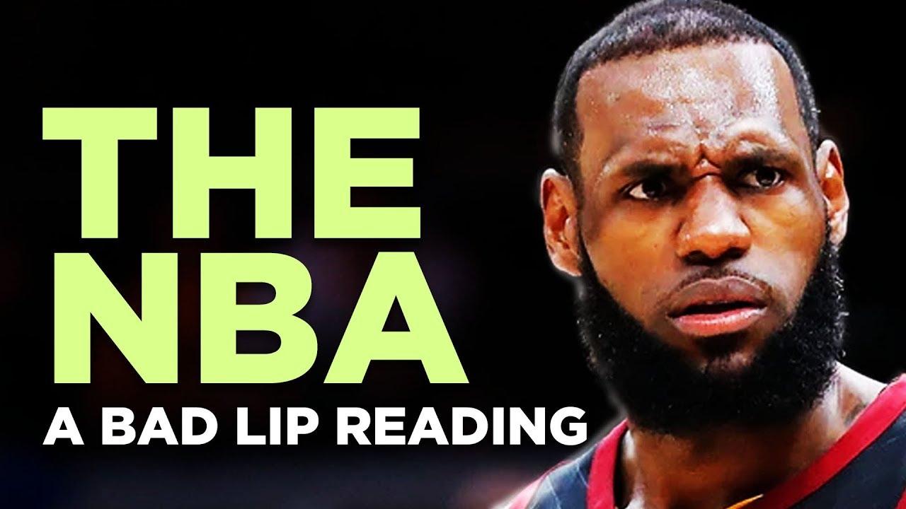 Bad Lip Reading: 2017-2018 NBA Season (Video)
