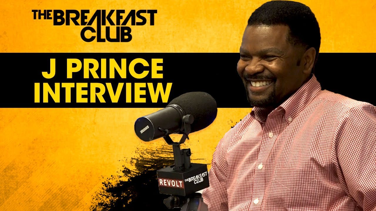 j prince breakfast club interview