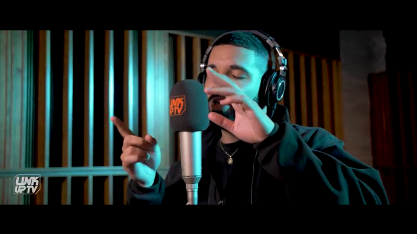 Drake – Behind Barz Freestyle (Kanye West Diss) (Video)