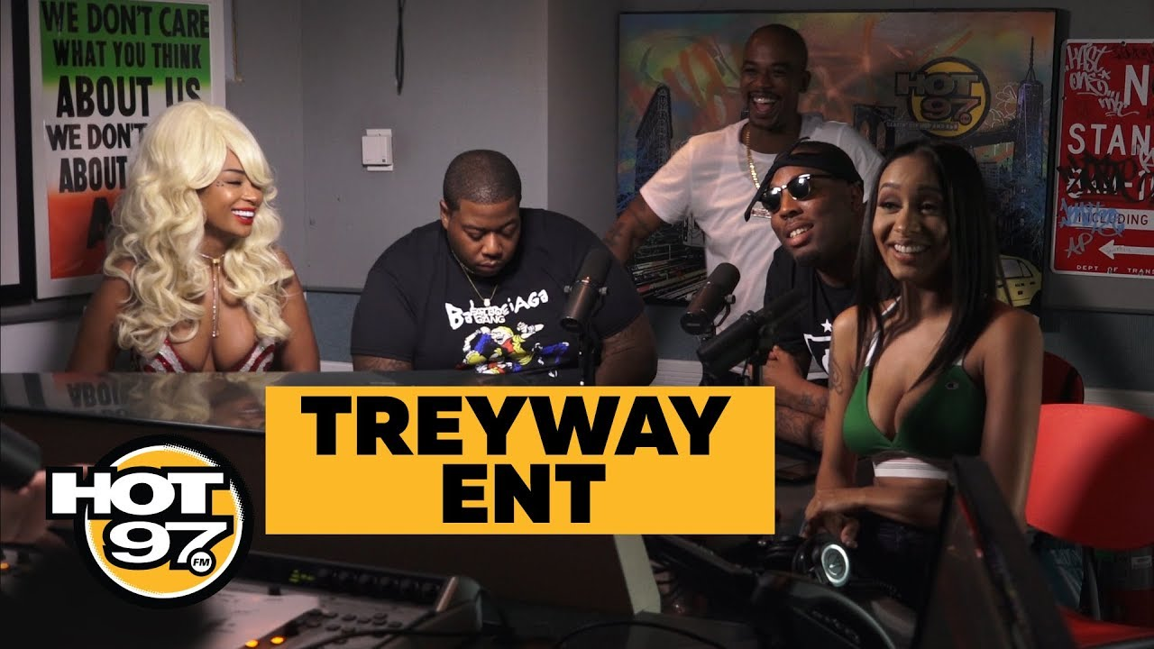 Tr3yway Entertainment – Hot 97 Freestyle (Video)