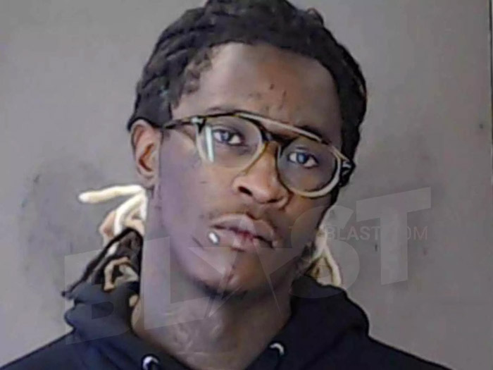 Young Thug Jailed After Failing Drug Test