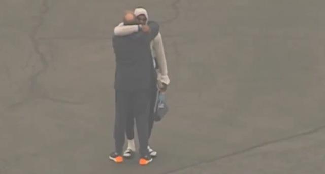 LeBron James Tears Kobe Bryant Death