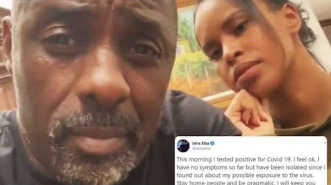 Idris Elba Has Tested Positive For Coronavirus