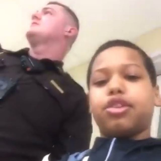 Wildin: Kid Goes Off On Police Officer After Being Accused Of Stealing