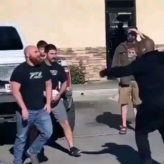 Wack 100 Defends Himself Against 2 Alleged White Men In Parking Lot