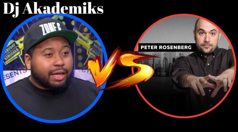 DJ Akademiks Responds to Peter Rosenbergs Boxing Challenge