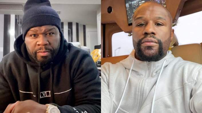 50 Cent Makes Fun of Floyd Mayweather For Getting a Beard Transplant