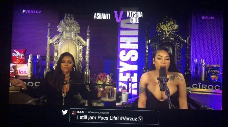 "O.T. Genasis Crashes Keyshia Cole ""Love"" Performance During Verzuz"