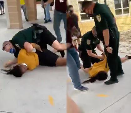 Officer Body Slams Female Student