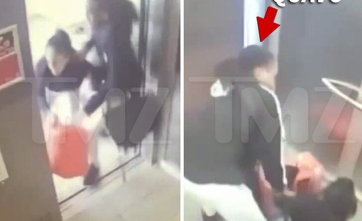 Quavo & Saweetie Elevator Altercation Caught on Video