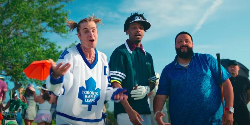 DJ Khaled Justin Bieber 21 Savage Let It Go