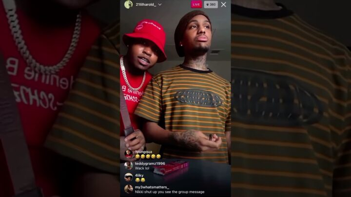 21 Savage's Brother 21 Lil Harold Tells Wack 100 He Will Shoot Him Camera