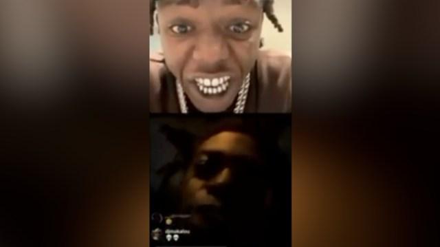 Kodak Black & Jackboy Go At It On Instagram Live