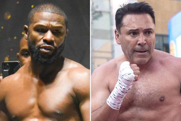 Floyd Mayweather Wants $100M To Fight Oscar De La Hoya