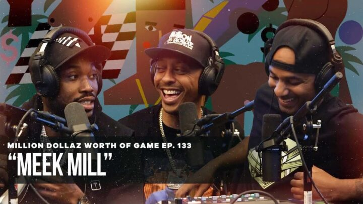 """Meek Mill Sits Down For """"Million Dollaz Worth Of Game"""" Podcast"""