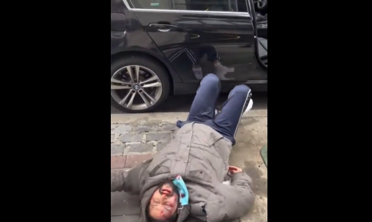 Man Survives After Jumping From A New York Building Onto A Car