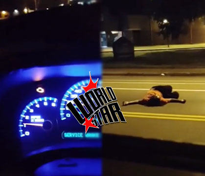 Woman Gets Ran Over Twice While Waiting For Help